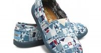 Mary Blair/It's A Small World - inspired Toms!