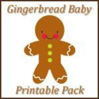 Gingerbread Baby PreK/Preschool and Kindergarten printables ~ over 40 pages of learning fun for your preschool and kindergarten aged kids!