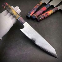 Chef Knife 8 inch Professional Kitchen Knives Stainless Steel Cooking Tools Wood Handle $133.50