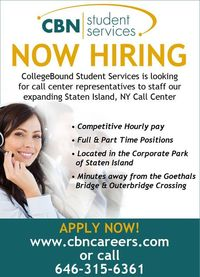 CBN - NOW Hiring! #collegebound