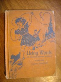 Using Words An Enriched Spelling Program Lillian Billington (1940) for sale at Wenzel Thrifty Nickel ecrater store
