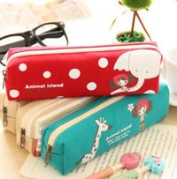 Lovely Canvas Pencil Case $3.99