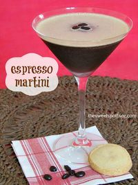 When we discovered Espresso Martinis on a trip to Las Vegas, we were obsessed with recreating it at home. It turns out that it is a very simple recipe.