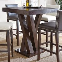 Steve Silver Tiffany Square Bar Height Table   from hayneedle.com