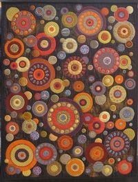 wool applique, this would be a fun project for the winter!! More